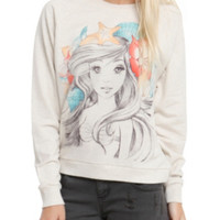 Disney The Little Mermaid Ariel Sketch Girls Pullover Top