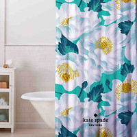 "Rare Blue Flower Kate Spade Custom Shower Curtain 60"" x 72"" Print On Limited"