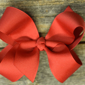 5.5'' Hair Bow's by Mandy Lou {Several Colors Available}