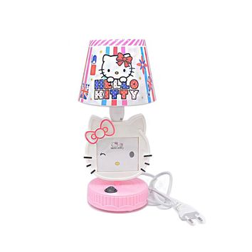 Pink/Red LED Table Lamps Hello Kitty Night Lights Picture frame Reading Lamps for Children Bedroom Bedside Night Lamp