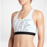 Nike Women's Pro Classic Strappy Logo Padded Sports Bra| DICK'S Sporting Goods