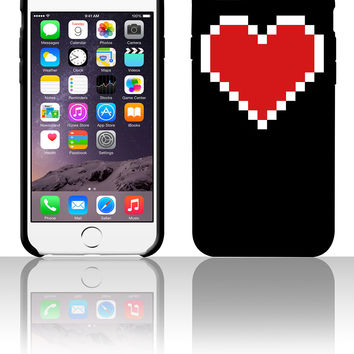 Pixel Heart 5 5s 6 6plus phone cases
