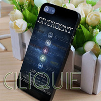 Divergent One Choice - iPhone 4/4s/5/5s/5c Case - Samsung Galaxy S2/S3/S4 Case - Black or White