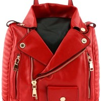 Rockabilly Backpack - Red