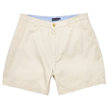 "The Regatta 6"" Short Flat Front in Audubon Tan by Southern Marsh"