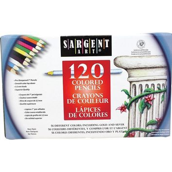 SARGENT ART COLORED PENCILS 120CT
