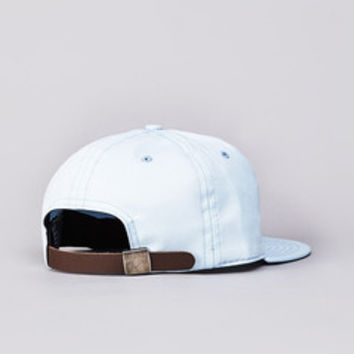 Flatspot - Ebbets Field Flannels Plain Strapback Cap Light Blue