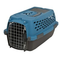 Petmate Kennel Cab Sm Peacock/Coffee Grounds    S