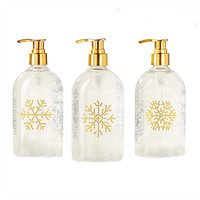 Shimmering Snowflake Sugar Cookie Scented Liquid Hand Soap