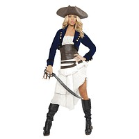 Sexy Island Ravager Pirate Girl Halloween Costume