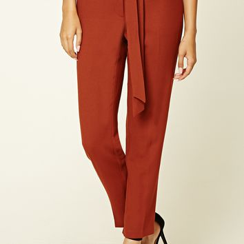 Woven Self-Tie Trousers