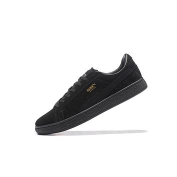Best Deal Puma SUEDE CLASSIC+ Shoes Women Men Sneaker Black