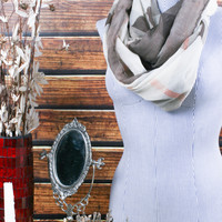 When Fall Leaves Infinity Scarf