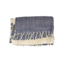 Modern Nautical Beach Throw