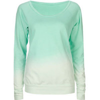 FULL TILT Dip Dye Womens Sweatshirt