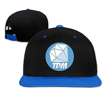 Youtube TheDiamond DanTDM Logo Adjustable Unisex RoyalBlue Baseball Caps Hip Hop Hats