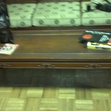 Chinese antique Rosewood couch w. coffee table