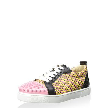 Christian Louboutin Women's Louis Junior Sneaker at MYHABIT