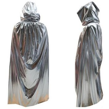 Unisex Adult BLEACH Azrael Cloak Cosplay Halloween Death Vampire Costume Christmas Purim Carnival Masquerade Rave party dress