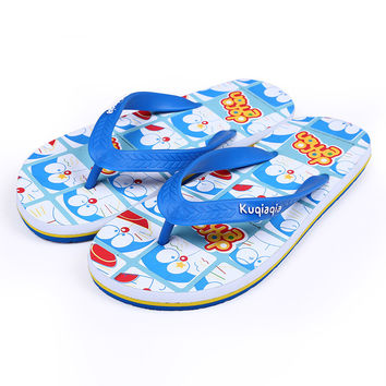 Cool Couple Cartoons Cats Casual Stylish Anime Slippers [4918325124]