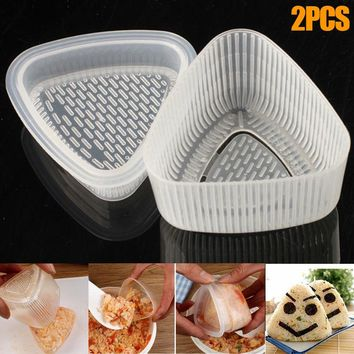 Newly  Sushi Mold Rice Ball Maker Sushi Rice Cake Press Mold Maker