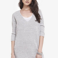 Marled London Tunic Sweater from EXPRESS