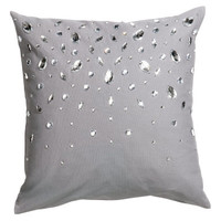 Rhinestone Cushion Cover - from H&M