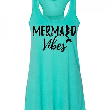 Mermaid Vibes Tank Top For Women
