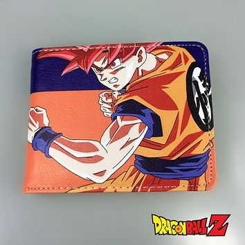 Cute dragonball hasp men's wallets Dragon Ball wallets gift