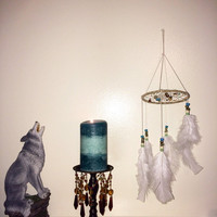 Dream Catcher Mobile--- Sunny Seaside Collection