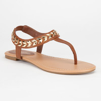 City Classified Cooper Womens Sandals Tan  In Sizes