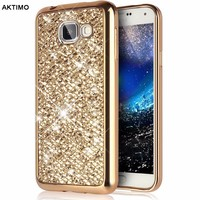 Fashion Bling Back Soft Cover Case For Samsung Galaxy S8 Plus J1 J3 J5 Prime 2016 S5 A3 A5 2017 S6 S7 Edge G530 Phone Protector