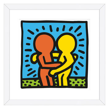 KH05 by Keith Haring (Framed)