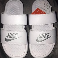 Nike Classic Woman Men Fashionable Casual Multicolor Sandals Slippers Shoes