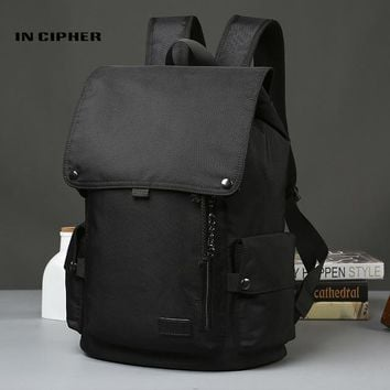 Student Backpack Children [In Cipher] Oxford Fabric Laptop Backpack Waterproof Bookbag Double Strap Bags Brand Leisure Travel Men Women Students Backpacks AT_49_3