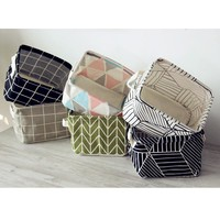 Brief Linen Storage Box -6 Colors-
