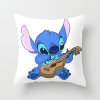 Stitch Throw Pillow by Christa Morgan ☽