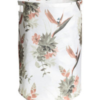 H&M Patterned Laundry Basket $14.99