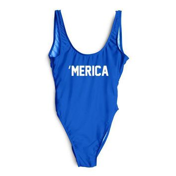 'MERICA One Piece Swimsuit