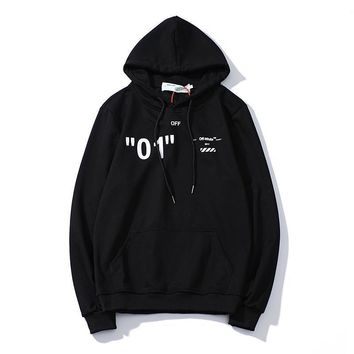 Off-White Top Sweater Hoodie-1
