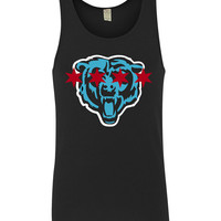 "Careless Cherub 2013 ""Chicago Monsters"" mens & womens tank top"