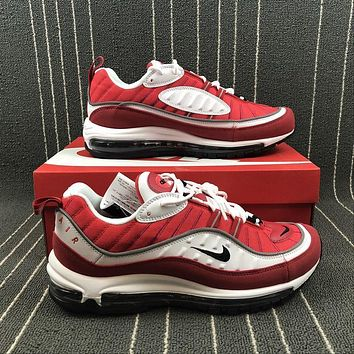 Nike Air Max 98 OG ¡°Gym Red¡± Sports Running Shoes