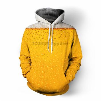 SOSHIRL Punk Hoodies Men's Outfit Autumn Winter Loose Hooded Hoody Tops US Size