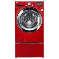 LG Electronics 4.5 cu. ft. High Efficiency Front Load Washer with Steam in Red, ENERGY STAR WM3670HRA at The Home Depot - Mobile