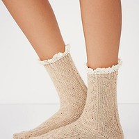 Free People Womens Speckled Highland Bootsock