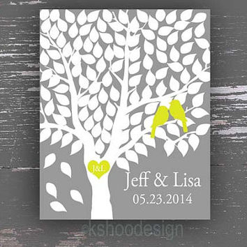 Wedding Poster,Wedding Guestbook,Guestbook,Guest Book,Love Bird Print,Guestbook Poster,Signature Print,Alternative Poster,Alternative Book