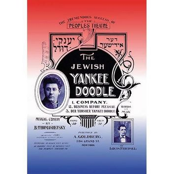 The Jewish Yankee Doodle (Canvas Art)