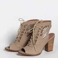 Wanda Cutout Booties By Restricted