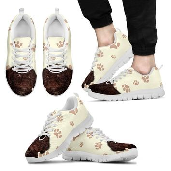 Spanish Water Dog Running Shoes For Men-Free Shipping