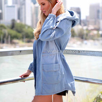 WRAPPED IN LOVE 2.0 ANORACK JACKET , DRESSES, TOPS, BOTTOMS, JACKETS & JUMPERS, ACCESSORIES, $10 SPRING SALE, PRE ORDER, NEW ARRIVALS, PLAYSUIT, GIFT VOUCHER, $30 AND UNDER SALE, Australia, Queensland, Brisbane